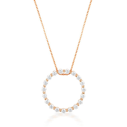Goergini 'Circle Of Life' Necklet P746RG