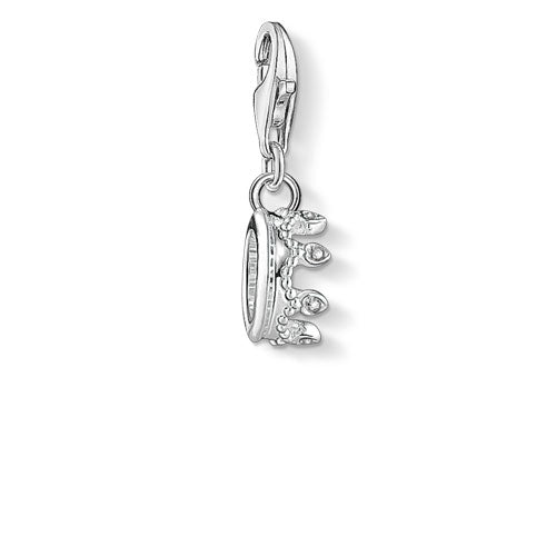 Thomas Sabo Silver Crown Charm 1796