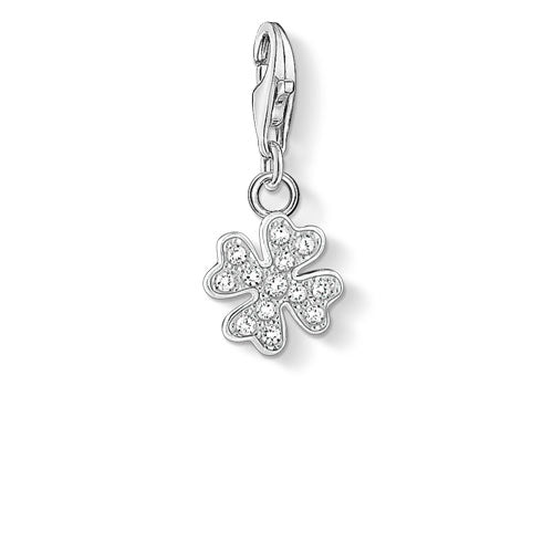 Thomas Sabo Sterling Silver Clover Charm 1797