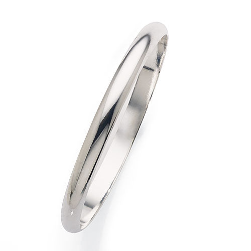 Sterling Silver Solid Bangle