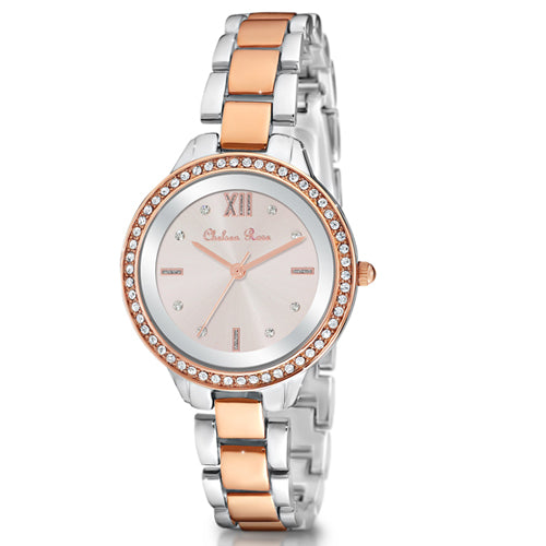 Chelsea Rose 2-Tone Watch 7251-10CB
