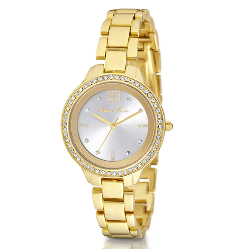 Chelsea Rose Gold-Tone Watch 7251-2CB