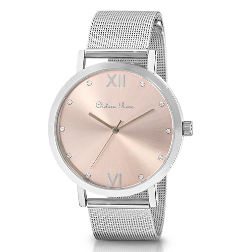 Chelsea Rose Mesh Watch 7426-1CB