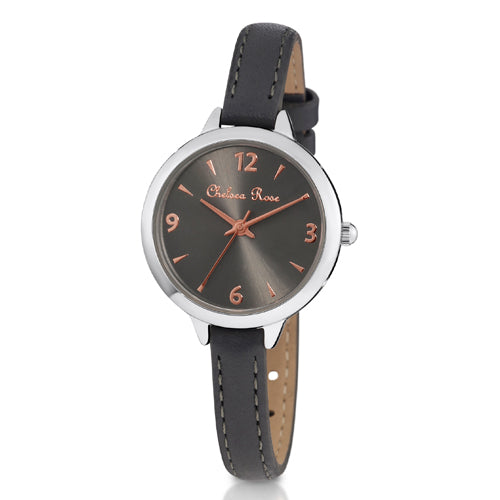 Chelsea Rose Grey and Rose Watch 753-1C10
