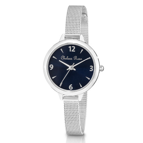 Chelsea Rose Mesh Watch 7530-1CB