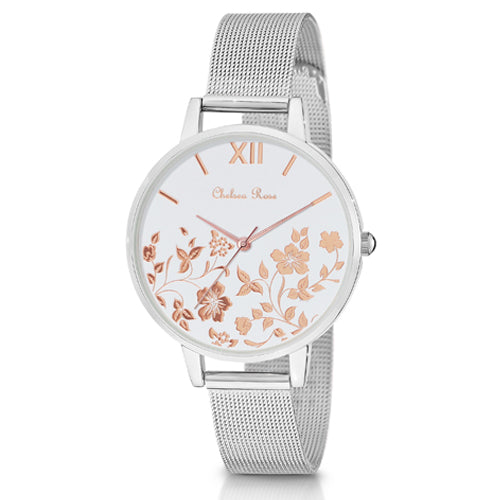 Chelsea Rose 2-Tone Watch