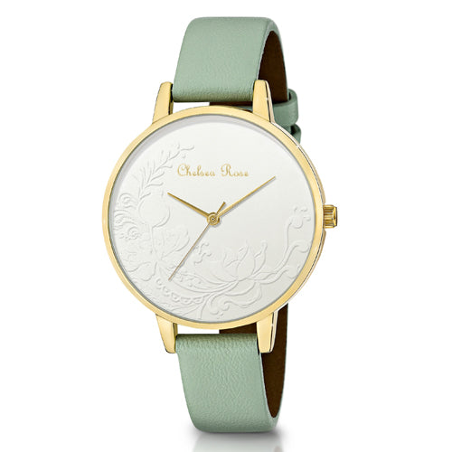 Chelsea Rose Floral Watch 7534-2C7