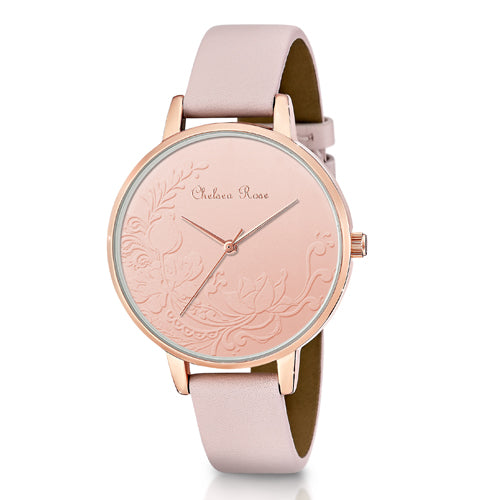 Chelsea Rose Floral Pink Watch 7534-3C2