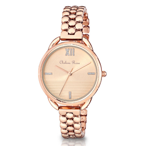 Chelsea Rose Rose-Tone Dress Watch 7586-3CB