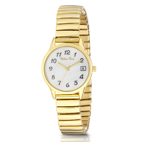 Chelsea Rose Gold-Tone Stretch Watch 906681-2CB