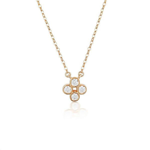 Georgini Rose-Tone 'Stellar Lights' Necklet P749RG