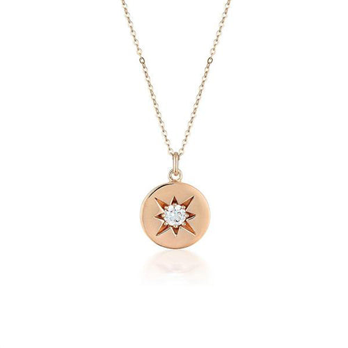 Georgini Rose-Tone 'Stellar Lights' Necklet P754RG