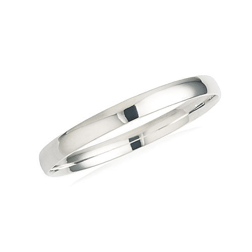 Sterling Silver 65mm Solid Bangle