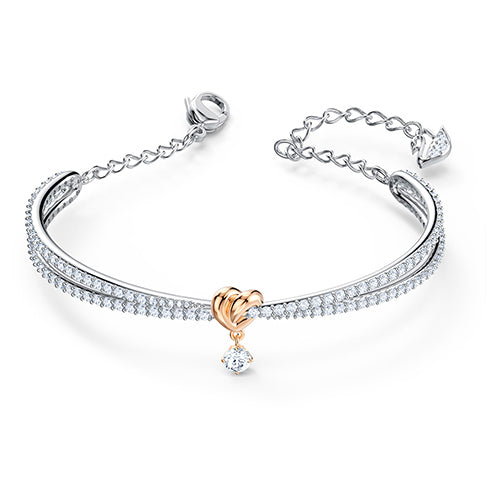 Swarovski Silver-Tone 'Lifelong' Bangle M 5516544