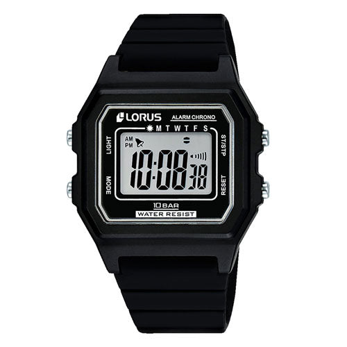 Lorus Chronograph Alarm Digital Watch R2305NX-9