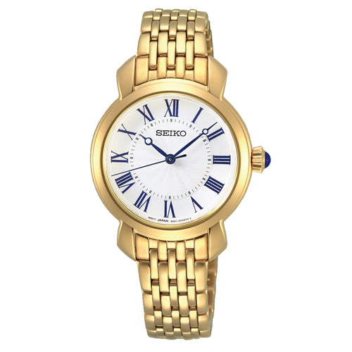 Seiko Gold-Tone Watch SUR626P