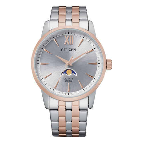 Citizen 2-Tone Moonphase Watch AK5006-58A