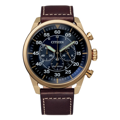 Citizen Eco-Drive Rose Gold Watch CA4213-26L