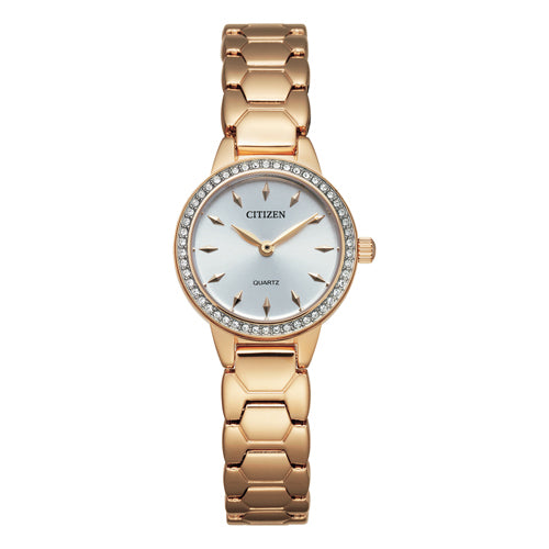 Citizen Rose Gold Swarovski Watch EZ7013-58A