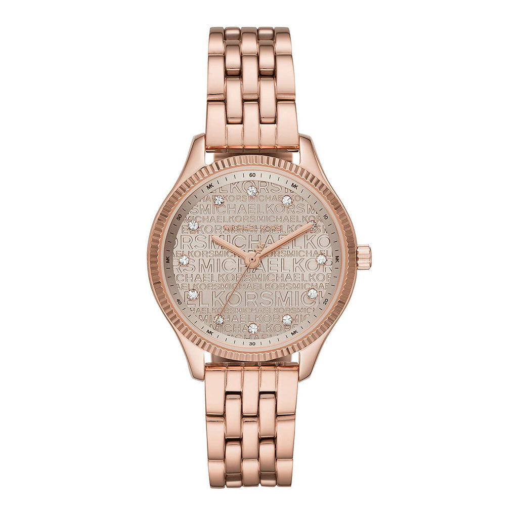 Michael Kors Lexington Rose Gold-Tone Watch MK6799
