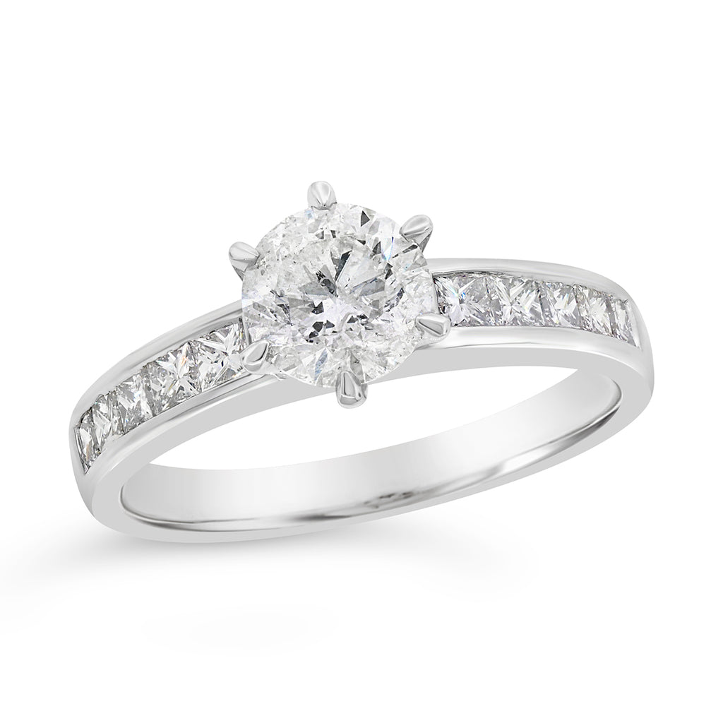18ct White Gold 1.5ct TW Diamond Engagement Ring