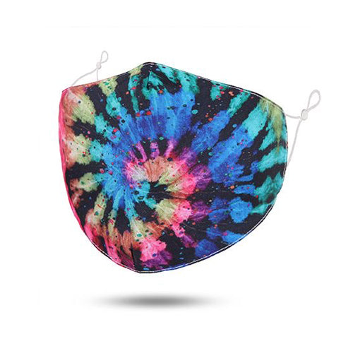 Swirl Tie-dye Reusable Cotton Face Mask