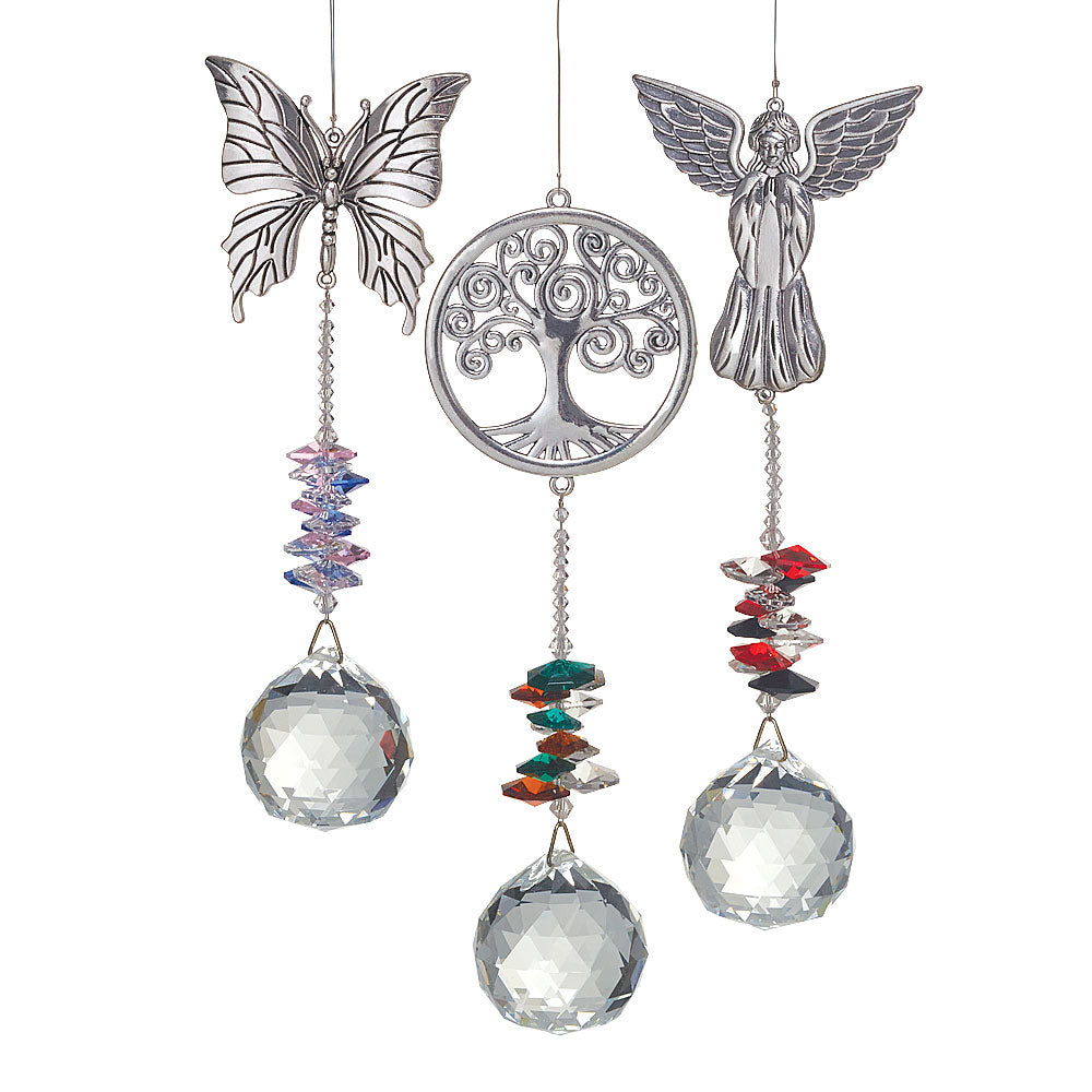 Hanging Crystal Ball Sun Catchers - Assorted Styles
