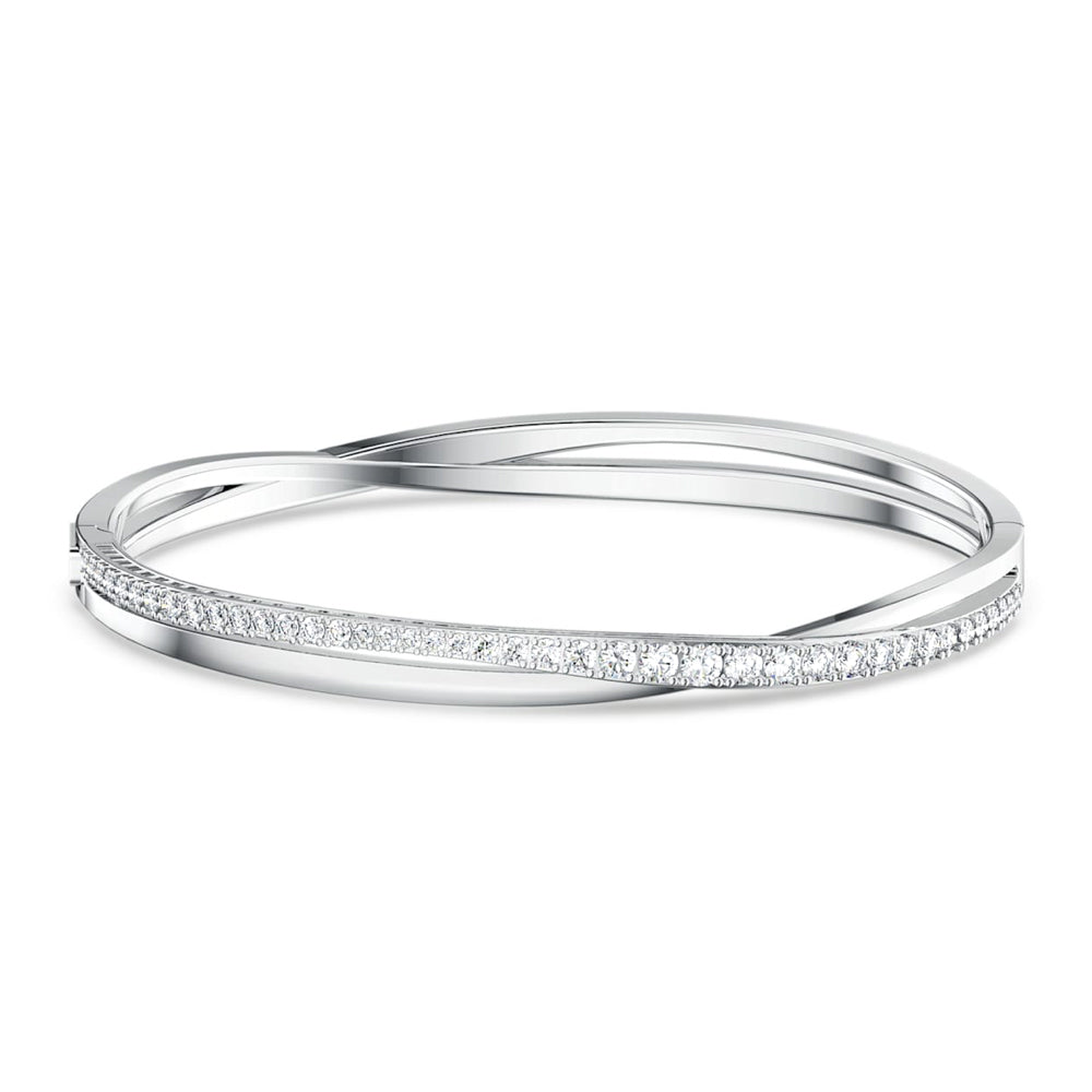 Swarovski 58mm Twist Rows Bangle 5565210