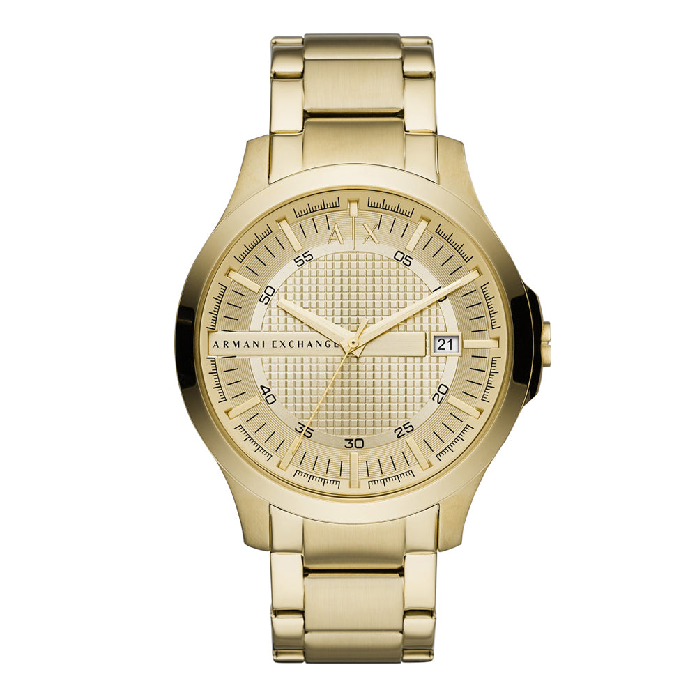 Armani Exchange 'Hampton' Gold Tone Watch AX2415
