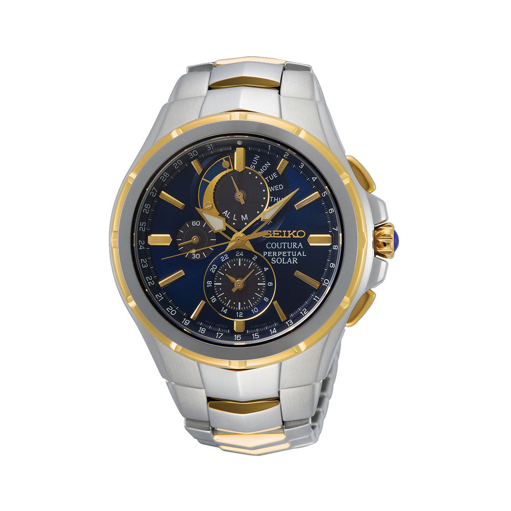 Seiko Coutura Solar Chronograph Watch SSC798P