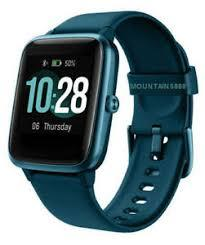 Cactus 'The Blaze' Teal Smart Watch Fitness Tracker Watch CA