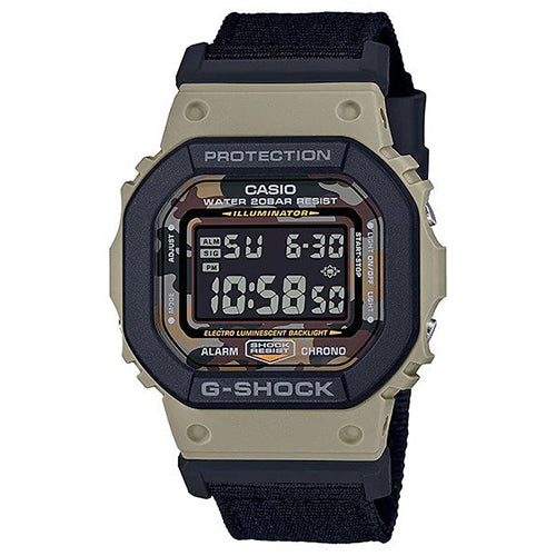 G-Shock Digital Watch With Interchangeable Band DW5610SUS-5D