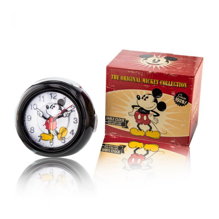 Disney Mickey Mouse Black Musical Alarm Clock TR87992