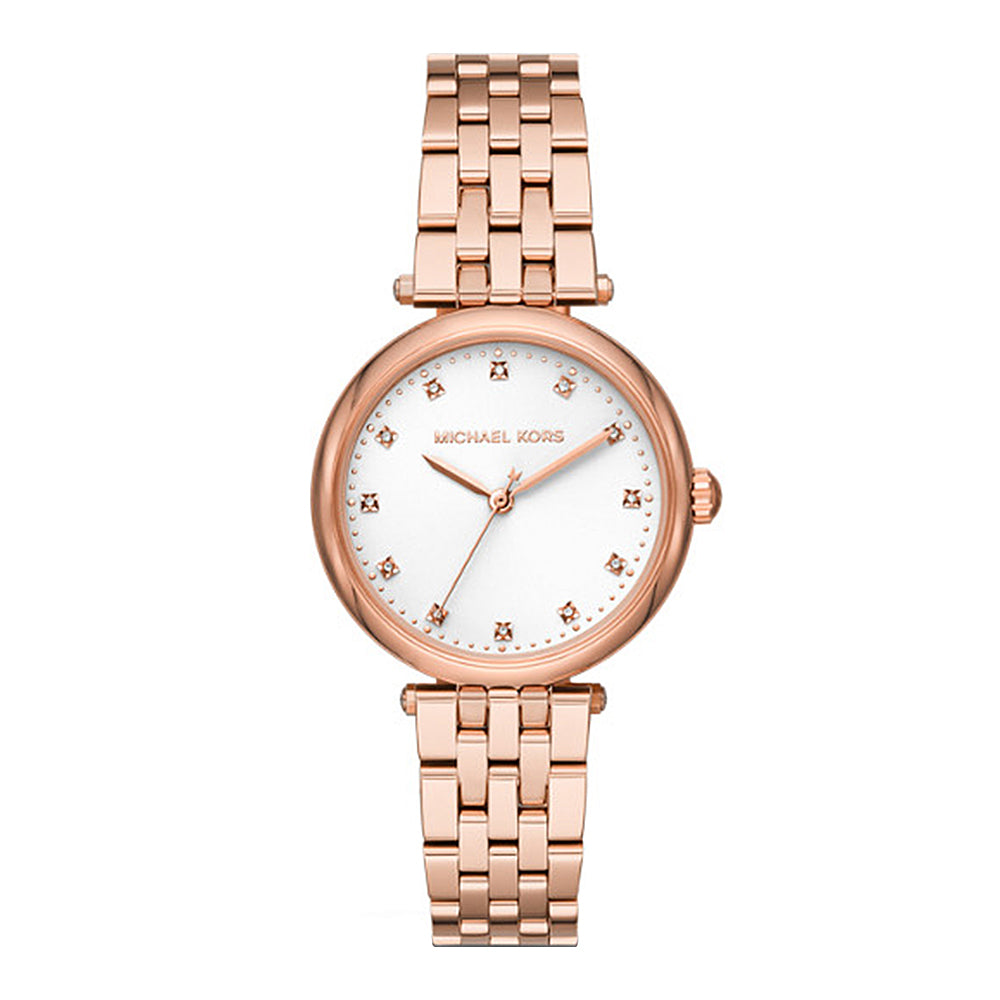 Michael Kors 'Darci' Rose Tone Diamond Set Watch MK4568