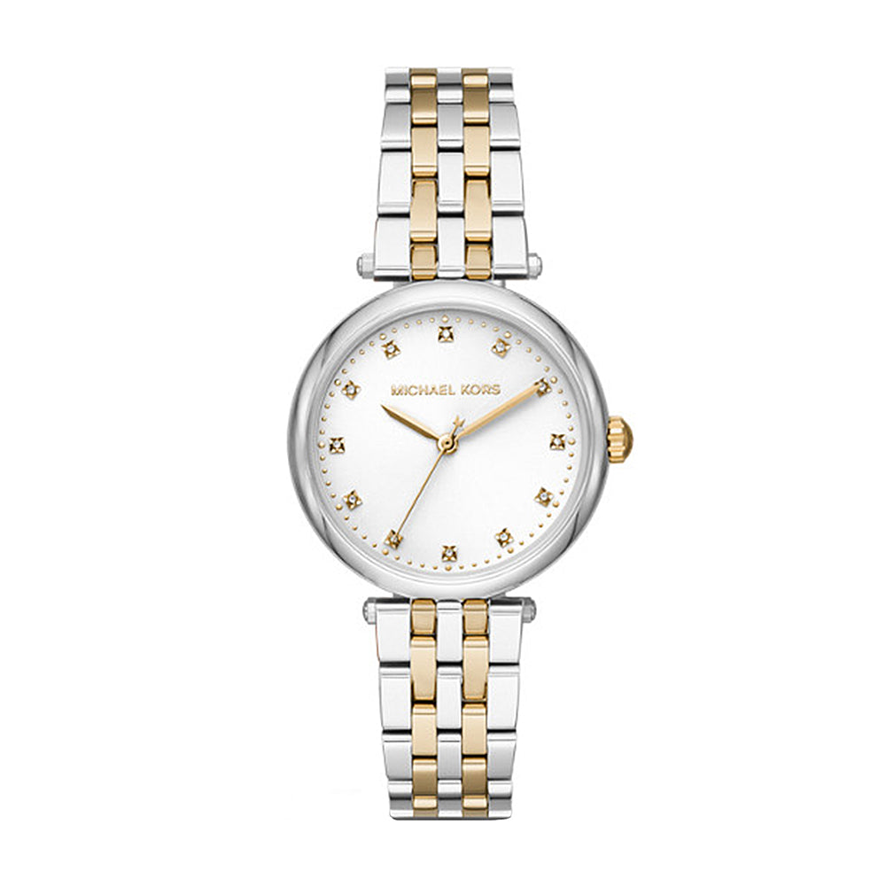 Michael Kors 'Darci' 2-Tone Diamond Set Watch MK4568