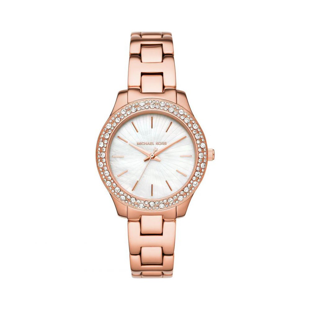 Michael Kors Liliane Rose Gold Watch MK4557
