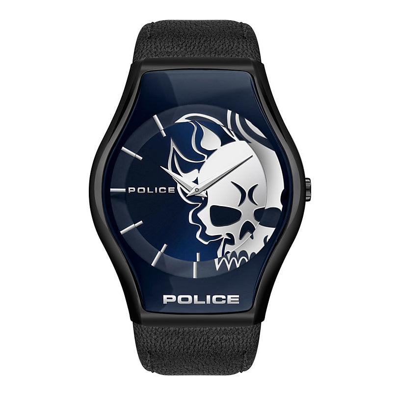 Police Sphere Flaming Skull Watch PEWJA2002302