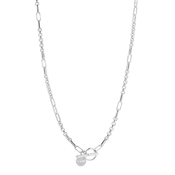 Najo 'York' Sterling Silver 50cm Necklace N6406