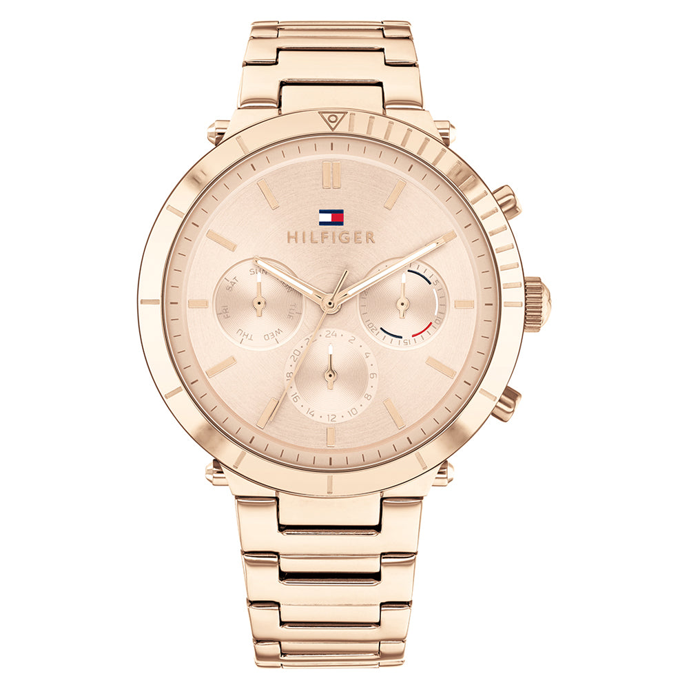 Tommy Hilfiger 'Emery' Chronograph Rose Stainless Steel Watc