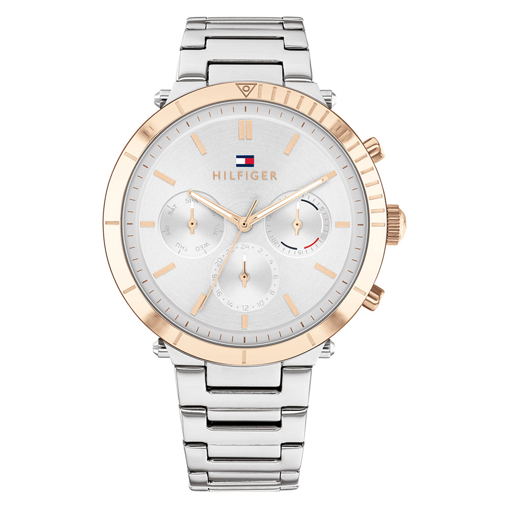 Tommy Hilfiger 'Emery' Stainless Steel Multi-function Watch