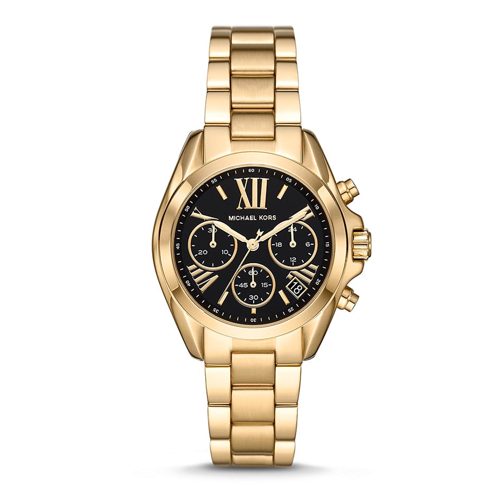 Michael Kors 'Bradshaw' Chronograph Gold Tone Watch MK6959