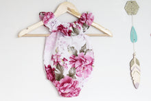Load image into Gallery viewer, Peony Posy Playsuit