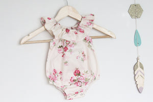 Camellia Posy Playsuit