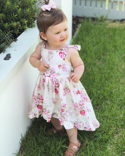 Camellia Posy Dress