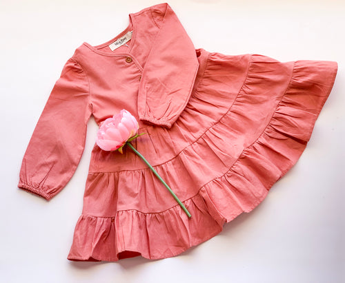 Amaryllis Frilly Dress