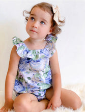 "Load image into Gallery viewer, Delphinium ""Delphi"" Posy Playsuit"