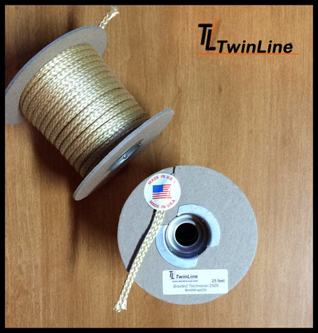 Braided Technora® 2500 - Spools