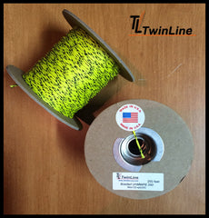 Braided UHMWPE 350 - (250 ft Spool)  (NEON YELLOW)