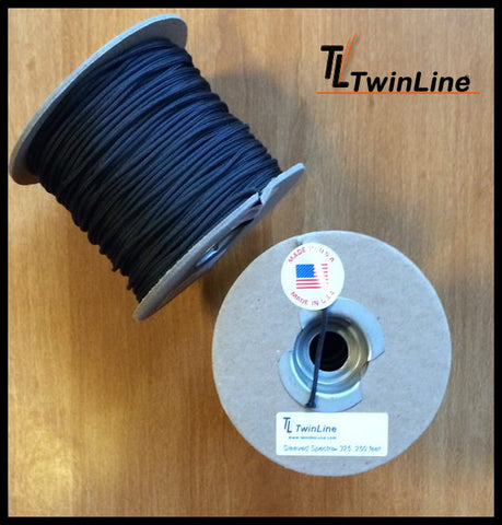 Sleeved Spectra® 325 - 250 Ft. Spools (BLACK)