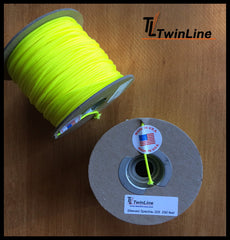Sleeved Spectra® 325 - 250 Ft. Spools (YELLOW)